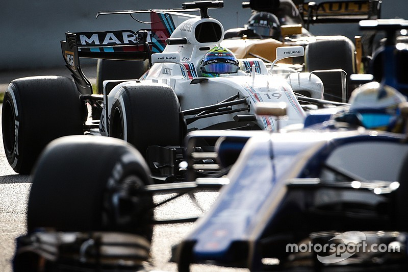 En images - La première partie de saison 2017 de Williams