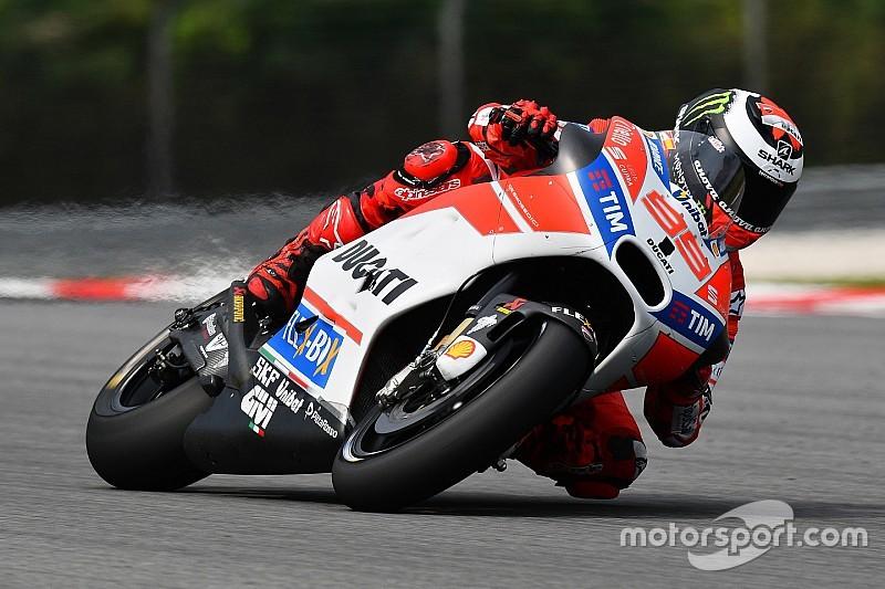 motogp 2017: jorge lorenzo surprisedlack of test pace