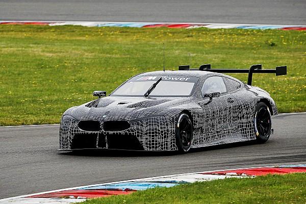 BMW M8 GTE Lausitz'de üç günlük test tamamladı