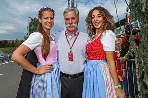 """Carey dice que seguirá habiendo """"chicas guapas"""" en la F1"""