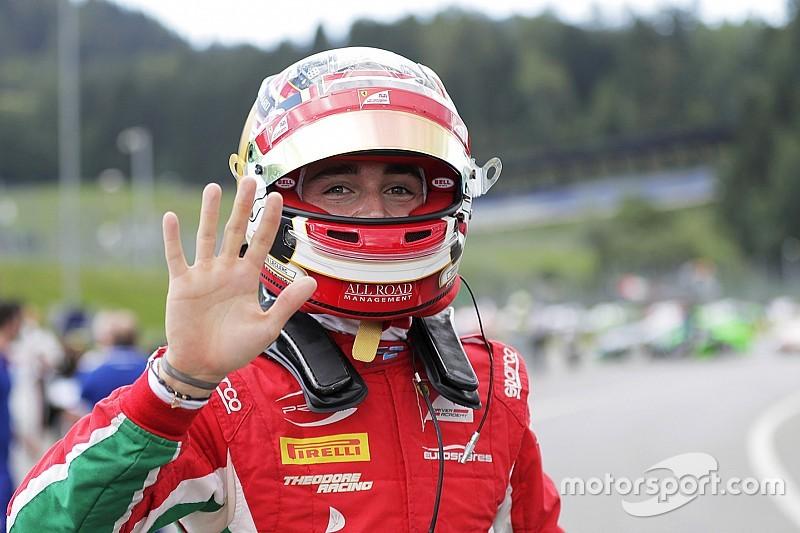 【F2オーストリア】レース1:ルクレール完勝で今季4勝目。松下は6位入賞