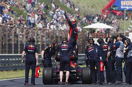 Гран При Ферстаппена. Как пилот Red Bull развлекал фанатов у себя дома