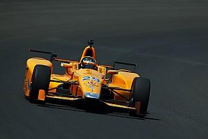 IndyCar Réactions Alonso se prépare aux tours