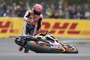 MotoGP Réactions Après deux chutes, Márquez admet qu'un podium