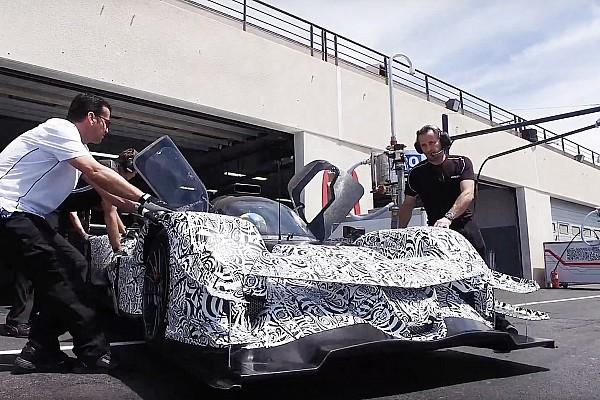 IMSA Breaking news New Acura DPi breaks cover in Paul Ricard shakedown