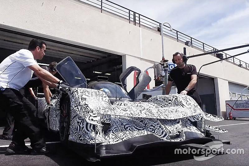 Le nouveau prototype Acura ARX-05 se montre au Castellet