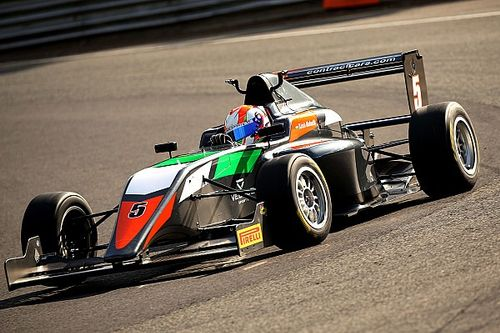 Brands Hatch BF3: Mahadik scores podium on return