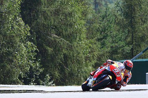 Marquez, pole strepitosa a Brno. Bene gli italiani: Rossi 2°, Dovi 4°