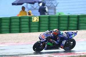 MotoGP Новость Виньялес указал Yamaha на проблемы нового шасси под дождем