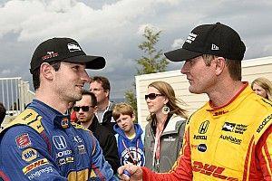 Hunter-Reay y Rossi resaltan las 42 victorias de Dixon