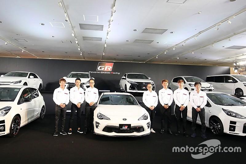 """トヨタのGRシリーズ始動。""""永続的なモータースポーツ活動""""を目指す"""