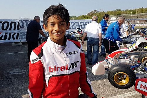 Alva scores another victory in EasyKart Italy