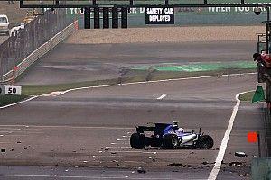 Deux crashs en deux jours pour le rookie Giovinazzi