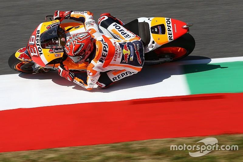 MotoGP: Marquez a hatodik helynél nem mert többet kockáztatni