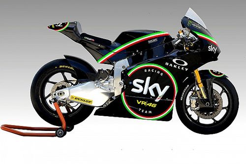 Sky Racing Team VR46 con una livrea celebrativa al Mugello