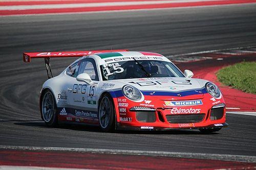Carrera Cup Italia, Misano: Pera ancora su di giri nelle libere 2
