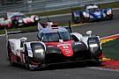 Toyota logra el top tres en la sesión matutina del test de Le Mans