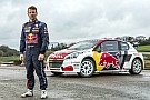 World Rallycross Loeb's new Peugeot 208 WRX car unveiled