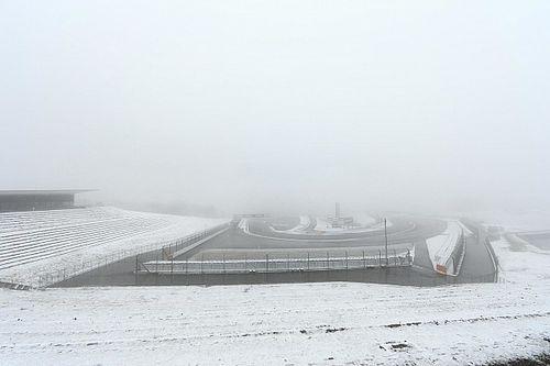 【スーパーGT】富士テスト2日目:午前は降雪中止。午後も走行不可か?