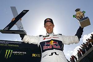 WK Rallycross Raceverslag WRX Portugal: Ekstrom verslaat Loeb na spannende strijd