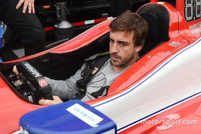 Sigue en directo el test de Fernando Alonso en Indianápolis