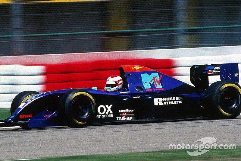 """Galería: la corta carrera del """"recordado"""" Roland Ratzenberger en F1"""