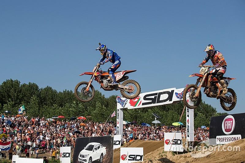 Cairoli y Seewer brillan en el calor del GP de Lombardía de MXGP