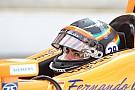 IndyCar Алонсо собирался прервать квалификацию из-за проблем с турбиной