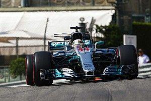 GP Monako: Hamilton pecahkan rekor absolut di FP1