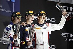 Abu Dhabi GP2: Gasly overhauls Giovinazzi with Saturday win