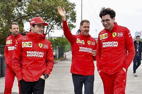 Ferrari tetap prioritaskan Vettel ketimbang Leclerc