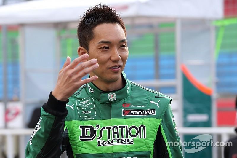 D'station Vantage GT3、スーパー耐久第4戦に藤井誠暢を起用