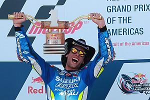 Rins tak percaya bisa kalahkan Rossi