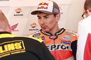 """Honda : """"Nous ne savons pas ce qui est arrivé à la moto de Lorenzo"""""""