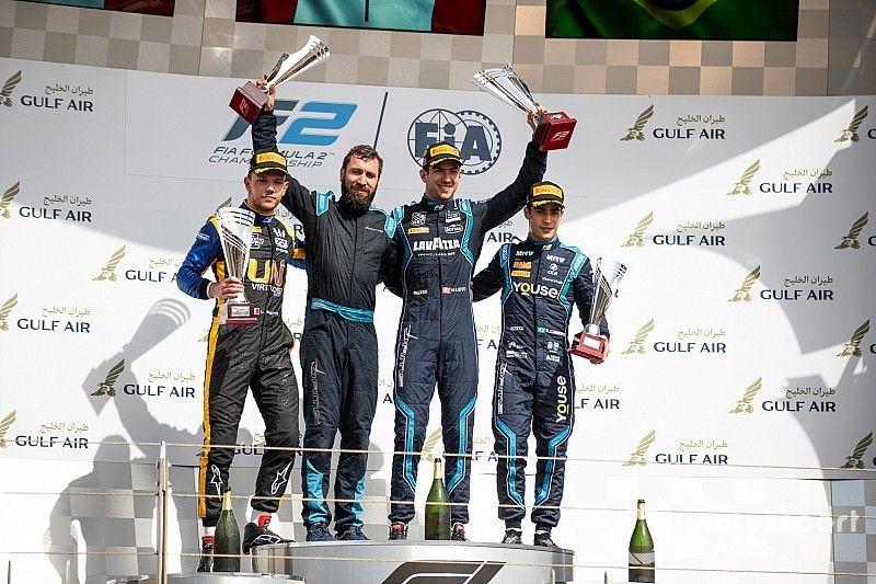 Latifi gana la primera en Bahréin y Tatiana Calderón remonta al 13°