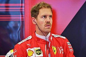 Vettel naar de stewards voor te traag rijden, gridstraf Grosjean
