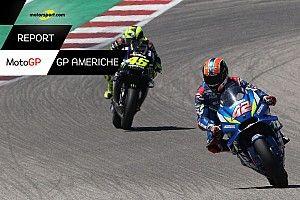 """Motorsport Report: Marquez esagera e il """"ranger"""" di Austin è Rins. Ma ridono anche gli italiani..."""