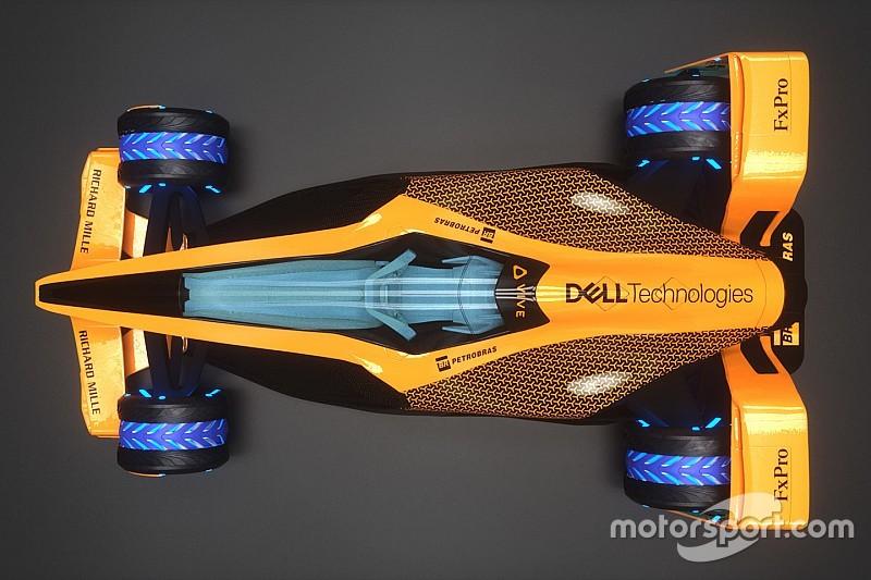 Photos - Le concept McLaren des Grands Prix 2050 en détail