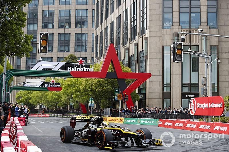 """F1完成中国街道首秀具有""""历史意义"""""""