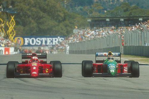 El GP número 500 de F1: Piquet resiste la embestida de Mansell