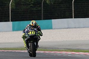 Rossi satisfait malgré un dernier run en pneu tendre avorté