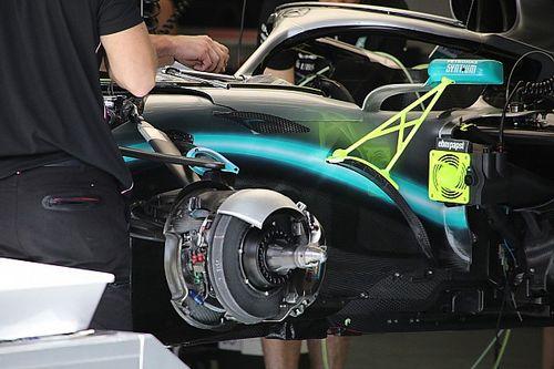 F1ブレーキ、カーボン-セラミック化は近い? ブレンボ「同等の性能達成は可能」