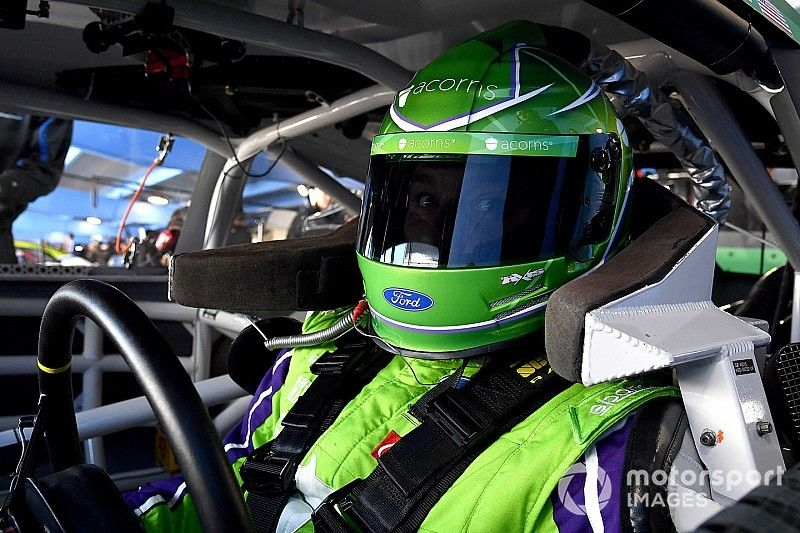 Ryan Newman superó las 204 mph en Talladega
