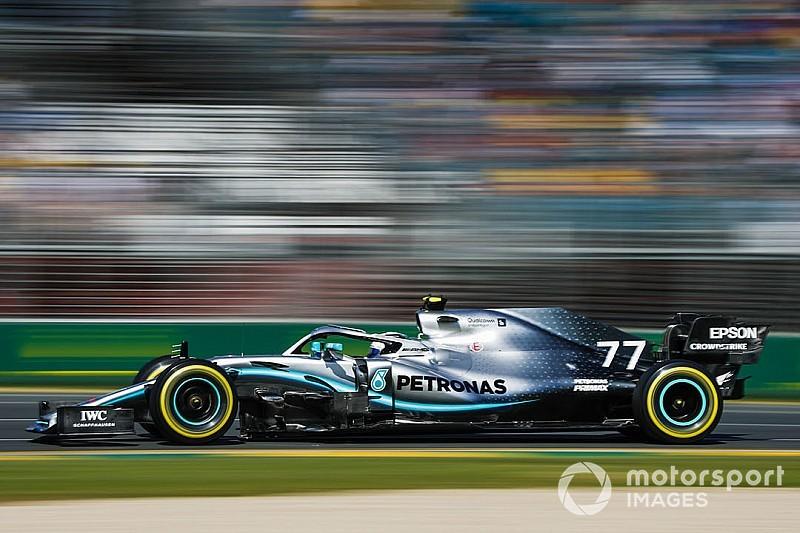 Pourquoi Mercedes n'a pas arrêté Bottas en fin de GP d'Australie