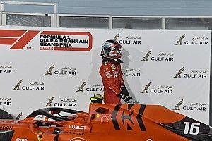 Úgy fest, nem szállt el Leclerc idei első hajtáslánca