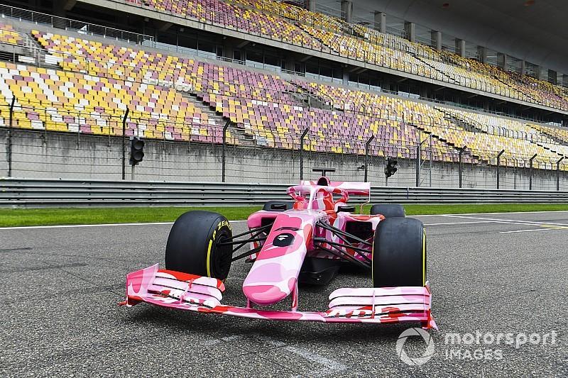Minden idők legfurcsább F1-es festését mutatták be Kínában: az 1000. nagydíj