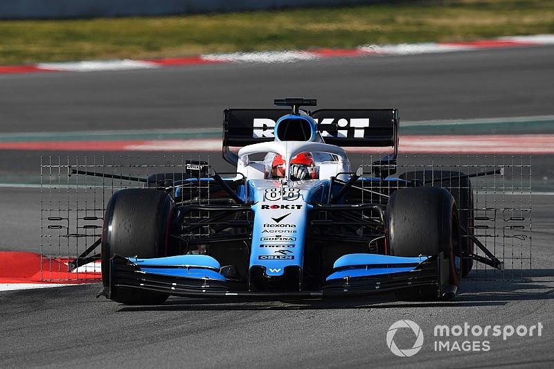 Williams en piste ce vendredi à Barcelone