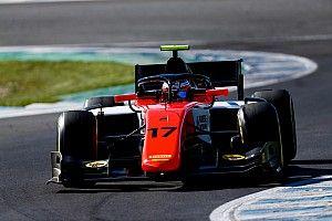 Verschoor donderdag met MP Motorsport in actie tijdens F2-test