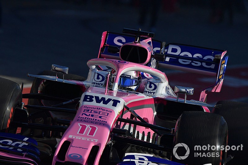 "Perez laments his ""really limited"" F1 test mileage"