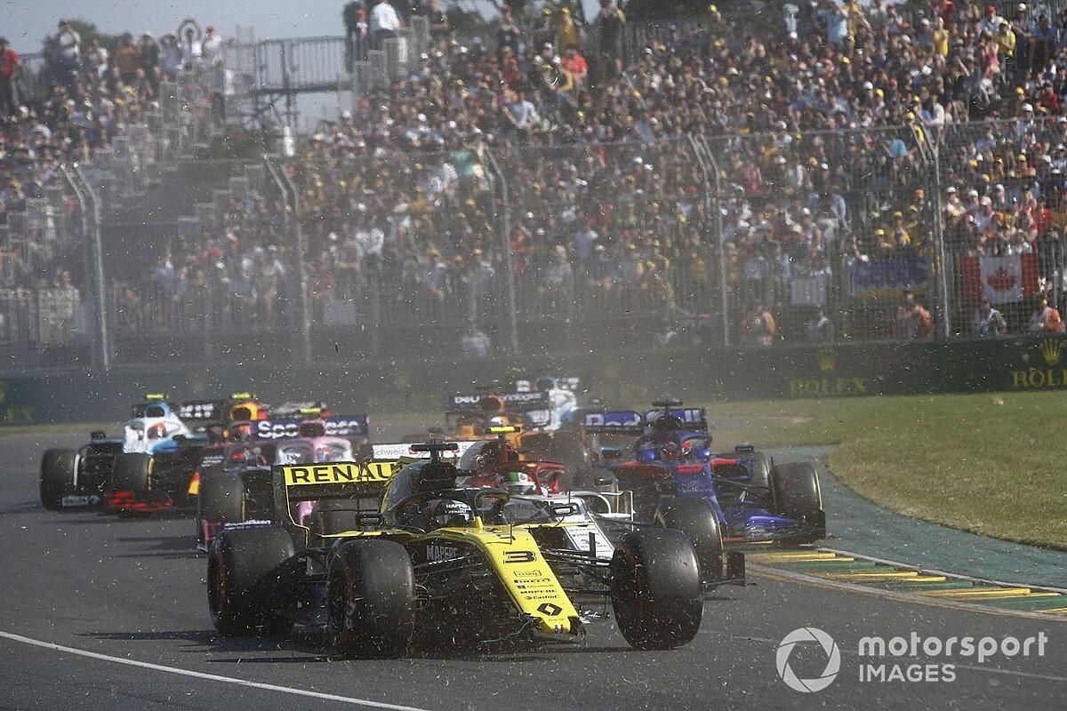 Melbourne va étudier l'accident de Ricciardo